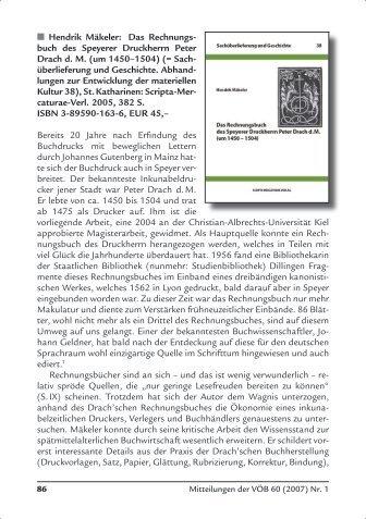  Hendrik Mäkeler: Das Rechnungs- buch des Speyerer ... - E-LIS