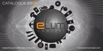 Catalogue produits eLum Concept 2012