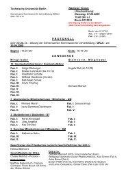 Protokoll der 24. Sitzung vom 30.06.2009 (PDF - Technische ...