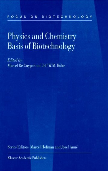 Physics And Chemistry Basis Of Biotechnology - De Cuyper - tiera.ru
