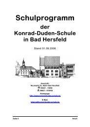 Schulprogramm - Konrad-Duden-Schule