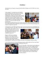 Ekelfaktor - Konrad-Duden-Schule