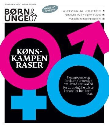 BØRN& UNGE07 - BUPL