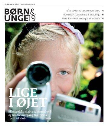 BØRN& UNGE19 - BUPL
