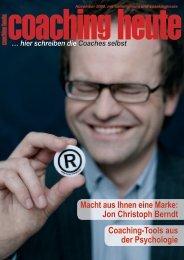 coaching heute 11/2009, niedrige Bildqualität (pdf, 3