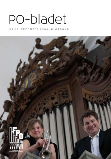 PO-bladet - Organistforeningen