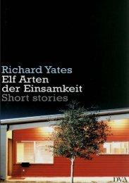 Yates, Richard — Elf Arten der Einsamkeit - Deutscher Klub