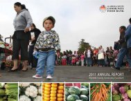 2011 ANNUAL REPORT - Alameda County Community Food Bank