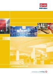 Leistungsspektrum - G+H Innenausbau