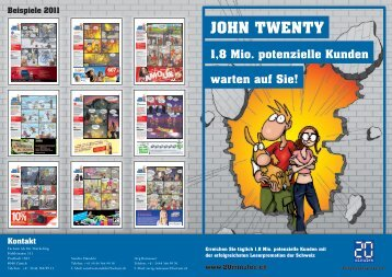 JOHN TWENTY 1 8 Mio. potenzielle Kunden warten auf ... - Factum AG