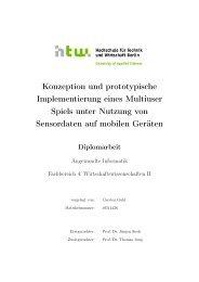 Konzeption und prototypische Implementierung eines ... - INKA