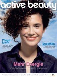 Mehr Energie - active beauty