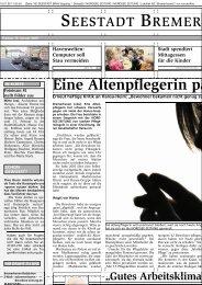 Eine Altenpflegerin packt aus - IPP - Universität Bremen