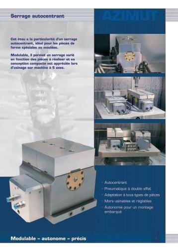 AZIMUT Serrage autocentrant Modulable ... - Evard Précision
