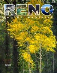Cover Artist Fred Boyce - Reno Talent Magazine