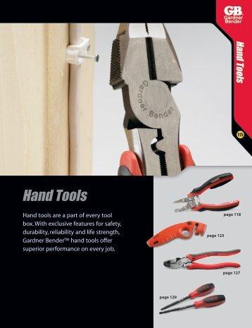 Hand Tools - Gardner Bender