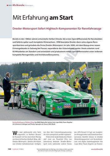 Drexler-Motorsport - Krafthand.de