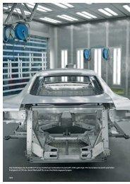 Die Heckklappe des Audi R8 GT - Audi Geschäftsbericht 2011