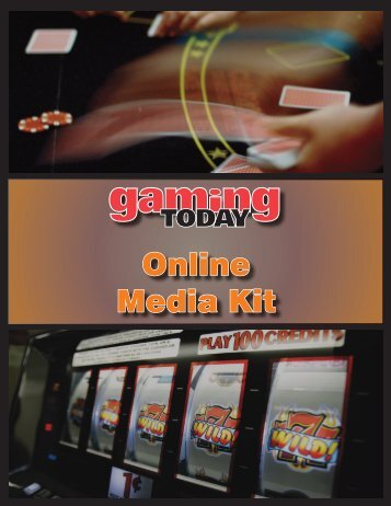 download online media kit pdf - Gaming Today