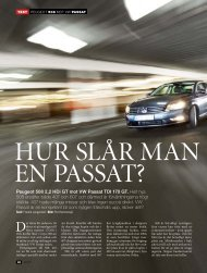 Peugeot 508 2,2 HDi GT mot VW Passat TDI 170 GT. Helt nya 508 ...