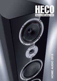HOME AUDIO 2013 - Heco