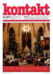 Ausgabe 24 (20.12.2012) PDF - Herrnhut