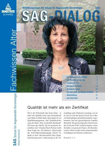 SAG Intern - bei Pro Senectute Schweiz
