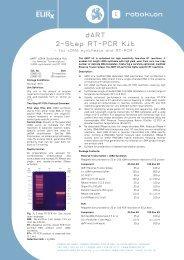 dART 2-Step RT-PCR Kit - roboklon