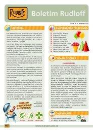 Boletim Nº 27 - Novembro / 2012 - Rudloff