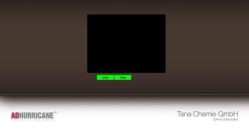 Tana Chemie GmbH - Amazon Web Services