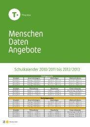 Schuljahr 2010/2011 - Kindergarten und Schule in Südtirol