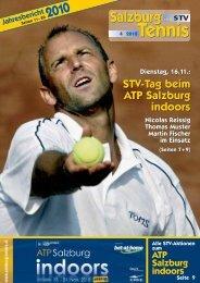 Jahresbericht 2010 - Salzburger Tennisverbandes