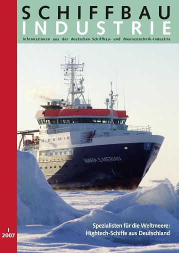 Hightech-Schiffe aus Deutschland - Schiff & Hafen