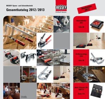 Bessey-Katalog - Schreinerhandel.de