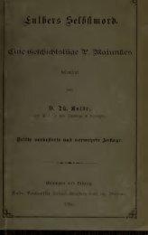 Luthers Selbstmord; eine Geschichtslüge P. Majunkes