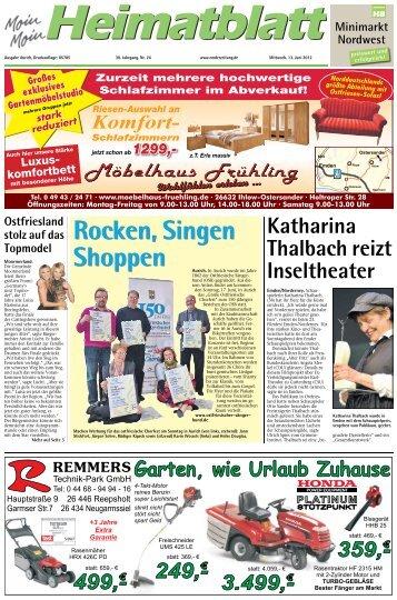 Rocken, Singen Shoppen Rocken, Singen - E-Paper - Emder Zeitung