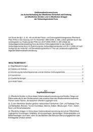 Gefahrenabwehrverordnung der VG Konz