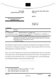 8021/07 gha/GT/bl 1 DG H 3A RAT DER EUROPÄISCHEN UNION ...