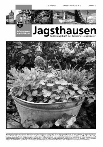 g Mitteilungsblatt der Gemeinde Jagsthausen - in der Gemeinde ...