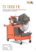 Steintrennsäge für hohe Materialdimensionen. Leistungsstarker - Seite 2