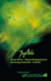 Junge Wilde« – Measha Brueggergosman Donnerst - Konzerthaus ...