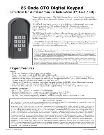 technical data information serial tamper proof keypad. Black Bedroom Furniture Sets. Home Design Ideas