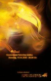 Klavierabend Valentina Lisitsa Dienstag, 17.04.2012 · 20.00 Uhr ...