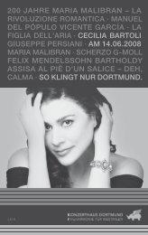 200 jahre maria malibran – la rivoluzione romantica - Konzerthaus ...