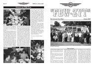 ''FBW-ZYT'' DIE AKTUELLEN CLUB-NEWS HERBST 2007 - Fbw-Club