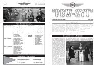 ''FBW-ZYT'' DIE AKTUELLEN CLUB-NEWS DEZ. 2005 - Fbw-Club