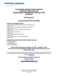 PES GS-23F-0058K - Information Systems