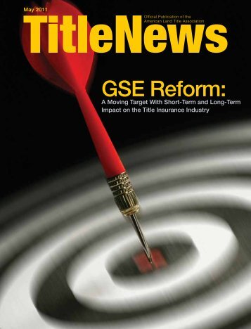 GSE Reform: - American Land Title Association