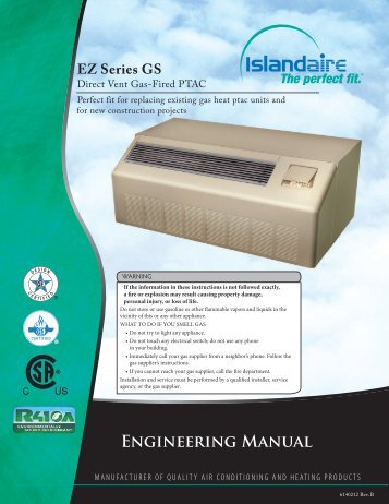 ENGiNEERiNG MANUAl - Islandaire