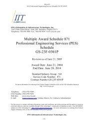 Professional Engineering Services Price List - EWA